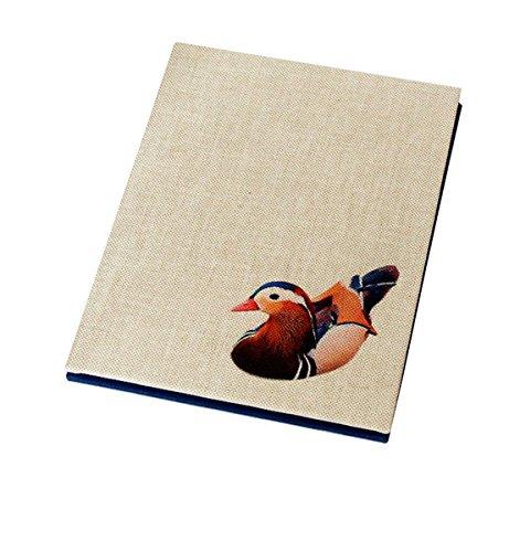 leporello-album-duck-on-a-pond