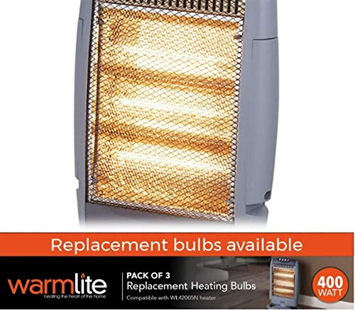 51sUUqIjAOL - Warmlite 3 Replacement Halogen Bulbs Compatible with the WL42005N Halogen Heater
