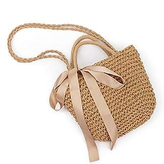 kitteny bolso playa paja,bolsos playa,Puro bolso de hombro tejido tejido a mano, estilo retro bolso tejido trenzado bolso de bolso bolso de hombro bolso de la honda