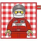 Vespo - Cojín con diseño Lego Fórmula 1 (45 x 45 cm)