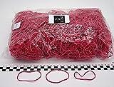 Progom-Elastiques-80(Ø50)mmx1.7mm-rouge-red-1kg