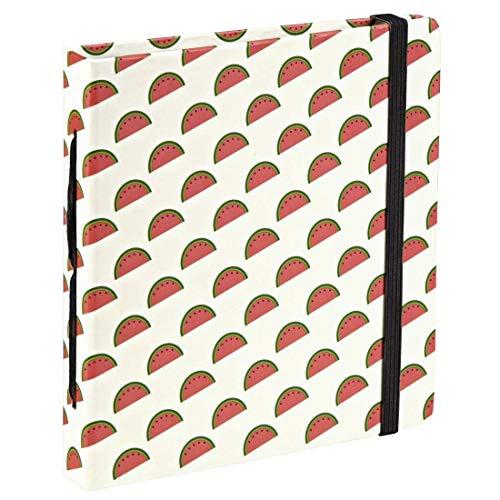 """Hama Einsteckalbum für Sofortbilder """"Melons"""" (Mini Album für 28 Fotos bis max. 8,9x10,8cm, Einsteck-Taschen, Albenformat 11,7x12,7cm)..."""