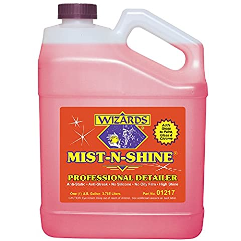 Wizards 01217 Mist-N-Shine Professional Detailer - 1 Gallon by