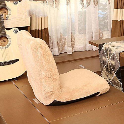 Lazy Chair Chambre Dortoir Chambre Décontracté Blanc / Beige ( Couleur : Beige )