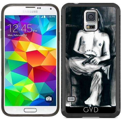 SilikonHülle für Samsung Galaxy S5 (SM-G900) - Der Clown, Der Nicht Lustig War by zombierust (Clown Für Samsung Galaxy S5 Fall)