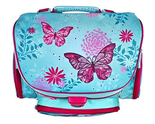 Scooli Butterfly Schulranzen Set 10tlg. Dose/Flasche Sporttasche und Schultüte 85cm BUKR8251 - 3