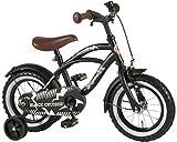 "12"" 12 Zoll Kindefahrrad Kinder Jungen Fahrrad Rad Bike Cruiser Kinderrad Rücktrittbremse schwarz matt"