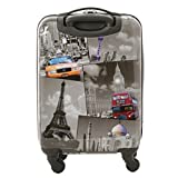 "Best Wheel Luggages - 5 Cities Jetsetter 21"" (55cm) Hard Shell Polycarbonate Review"