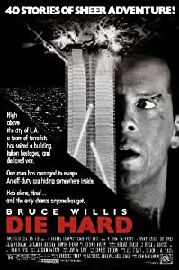 DIE HARD REPRODUCTION MOVIE POSTER 16X12""