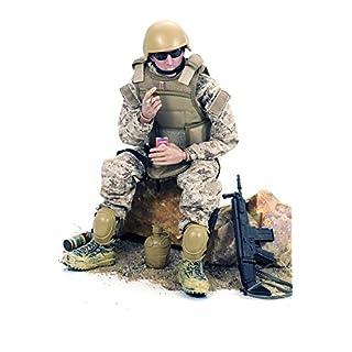 Baellar 12'' Special Forces Action Figure - Digital Desert Camouflage