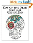 Day of the Dead Sugar Skull Coloring...
