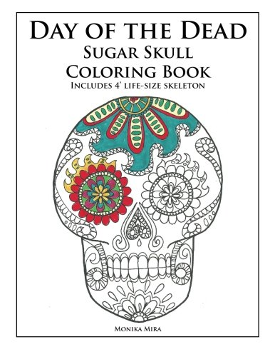Day of the Dead Sugar Skull Coloring Book -