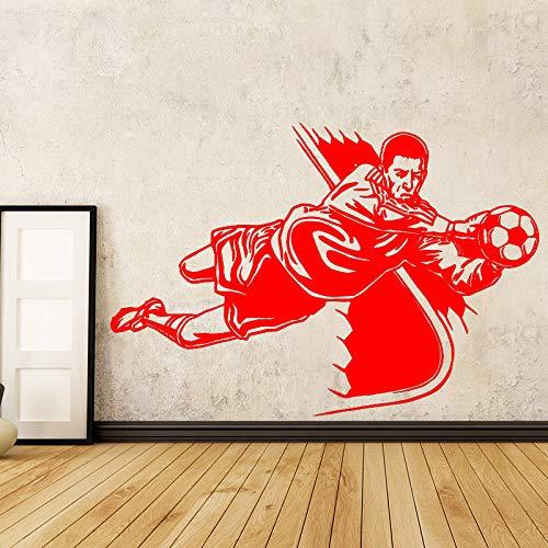 xingbuxin Muyuchunhua Voleibol Atleta Decoración de Pared para la habitación del bebé Tiendas Deportivas Estadio de Voleibol Vinilos Decorativos para Paredes 2 XL 58cm X 87cm