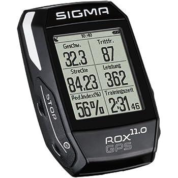 Sigma Sport Fahrradcomputer Rox GPS 11.0, One Size