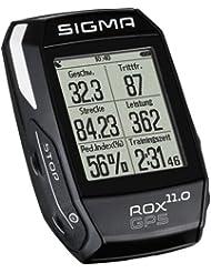 Sigma 01006 Compteur GPS de vélo Mixte Adulte, Noir