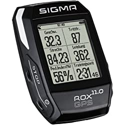 Sigma Sport Rox Gps 11.0 - Ciclocomputador, Color Negro, Talla Única