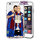 MIM Global Football Soccer Etuis Coque Case Cover Compatible pour Tous iPhone (iPhone...
