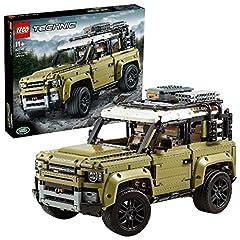 Idea Regalo - LEGO Technic Land Rover Defender, Set di Costruzioni per Ragazzi di +11 Anni e per i Veri Appassionati di Motori, 42110