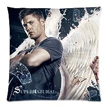 Supernatural Dean Winchester Sam Winchester Custom Pillowcase Pillow Sham Throw Pillow Cushion Case Cover Two Sides Printed 18x18 Inches