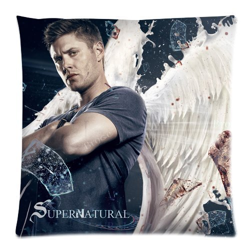 Supernatural Dean Winchester Sam Winchester Custom Pillowcase Pillow Sham Throw Pillow Cushion Case Cover Two Sides Printed 18x18 Inches, Coques iphone