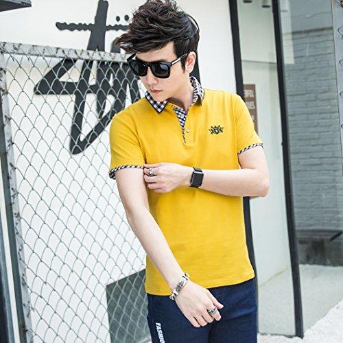 MTTROLI Herren T-Shirt Gelb
