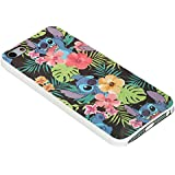 Disney Lilo and Stitch Floral If for Iphone Case (iPhone 5/5s white)