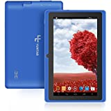 YUNTAB Tablette tactile enfant Bleu Q88 7'' IPS Allwinner A33 Quad Core 8 GB Android 4.4 support externe TF carte
