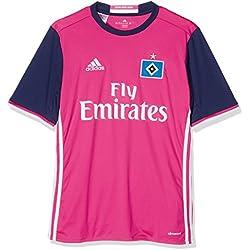 2º Equipación del Hamburgo SV - Camiseta oficial adidas para niños de 9-10 años