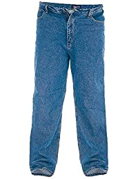 Jeans Hommes Stretch Confort Jeans By Rockford Duke Grand King Size