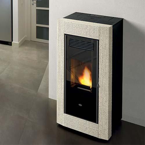 chauffage po le pellet. Black Bedroom Furniture Sets. Home Design Ideas