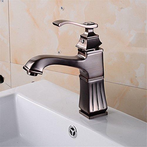NewBorn Faucet Küche Oder Badezimmer Waschtisch Armatur Metall Tippen Sitzen im Einklang Leitungswasser Antike Stilvolle Lift-up Eitelkeit Wasser C Tippen - Badezimmer-eitelkeit-sitz