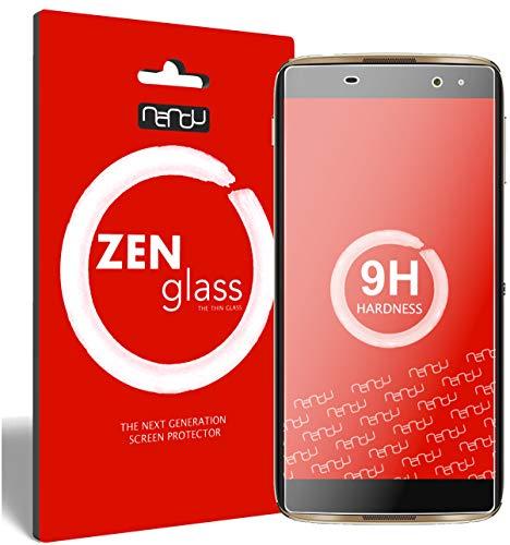 ZenGlass [2 Stück Flexible Glas-Folie für Alcatel Idol 4 Pro Panzerfolie I Bildschirm-Schutzfolie 9H I (Kleiner Als Das Gewölbte Bildschirm)