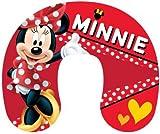 Little Flight Cuscino da Auto Cuscino Collo Bambini Viaggio Minnie Rossa Pois Disney Dimensione Cuscino 28 cm x 33 cm