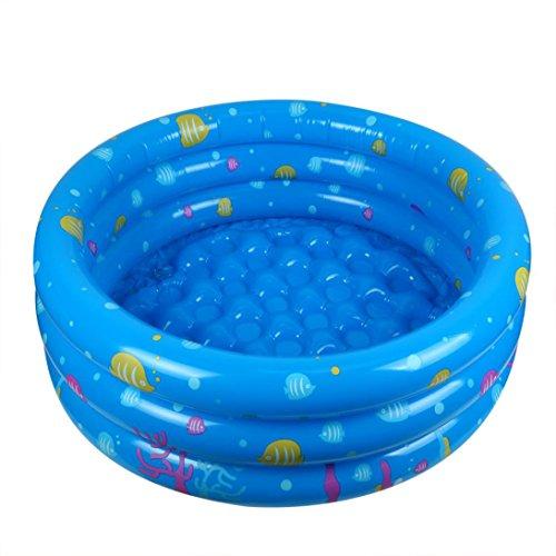 Italily - confortevole gonfiabile bambino bambino piccolo nuotare oceano palla piscina 80 cm il giro giardino partito interno - blu