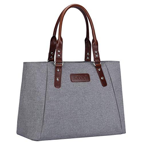 Schulter Große Handtasche (S-ZONE Damen S-ZONE Frauen Schulter Handtaschen Leichte Große Tote Casual ArbeitstascheEchtleder Tote Beutel Schultertasche Handtasche)
