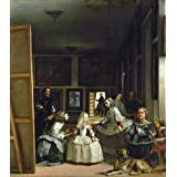 Las Meninas o la familia de Philip Imprima Arte de la pared imagen de alta calidad, papel, 56 x 54 cm