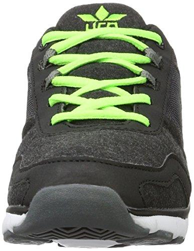 Lico Tender, Baskets Basses Homme Multicolore (Schwarz/Lemon)
