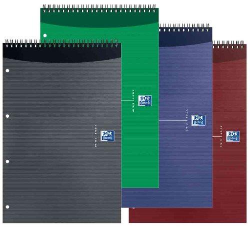 Preisvergleich Produktbild Oxford 100101664 Notizblock, 210 x 315, kariert, 80 Blatt Orange