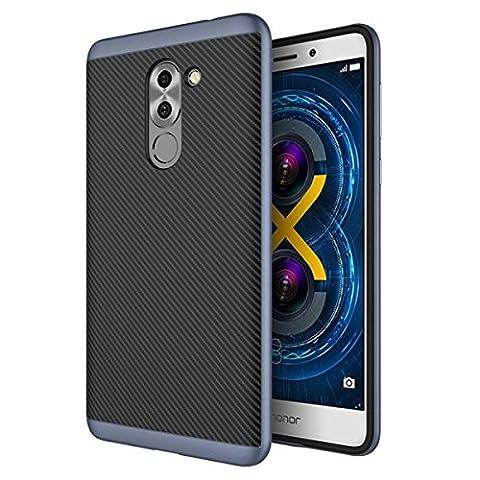 Coque Huawei Honor 6X étui Qissy® 2 en 1 Non
