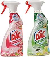 Dac Triggers All Purpose Cleaner Rose 500ml + Kitchen Cleaner Lime
