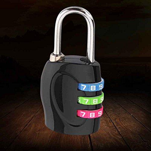 LUFA Bloqueo equipaje candado combinación 3 dígitos