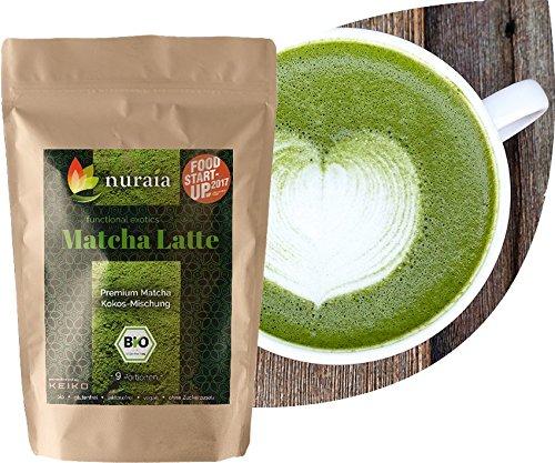 Matcha Latte Mischung (9 Portionen) bio, vegan, Kokos-Matcha