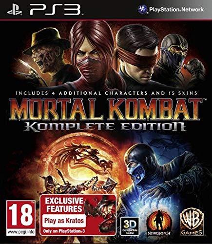 PS3 Mortal Kombat: Kollector's [100% Uncut Edition] + Schlüsselanhänger Deutsch spielbar