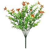 WOVELOT Fausses Plantes Artificielles 4Pcs Faux Arbuste de Stimulation de Plante...