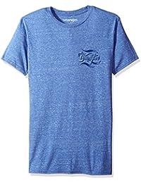 Wrangler mens  Men's Short Sleeve Logo Tee Shirt short sleeve T-Shirt