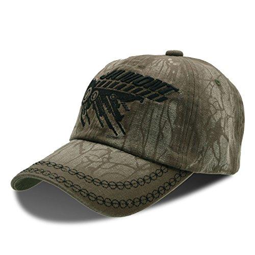 UPhitnis Baseball Cap für Herren Damen | Texture Pattern & Stickerei Brief | Unisex Basecap Schick für Freizeit und Sport