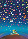 Heye 29373 - 3-D-Puzzles 500 Teile Stars, Guillermo Mordillo