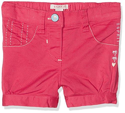 ESPRIT KIDS Baby-Mädchen Shorts RL2602104, Pink (Pinky Red 357), 74