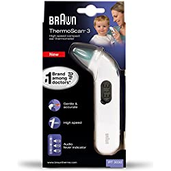 1 de Braun ThermoScan 3 - Termómetro (LCD, 128 mm, 31 mm, 28 mm, 50 g, 197 mm)