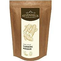 Sevenhills Wholefoods Roher Kurkuma Pulver Bio 1kg
